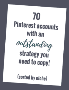70 Pinterest Accounts you need to copy