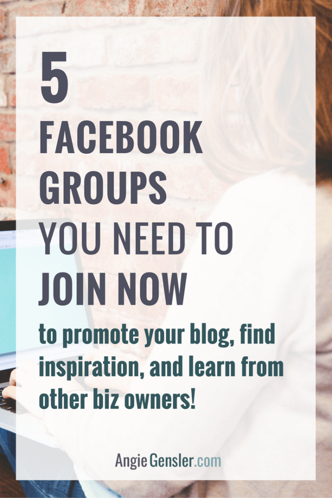 5 facebook groups you need to join now_pinterest