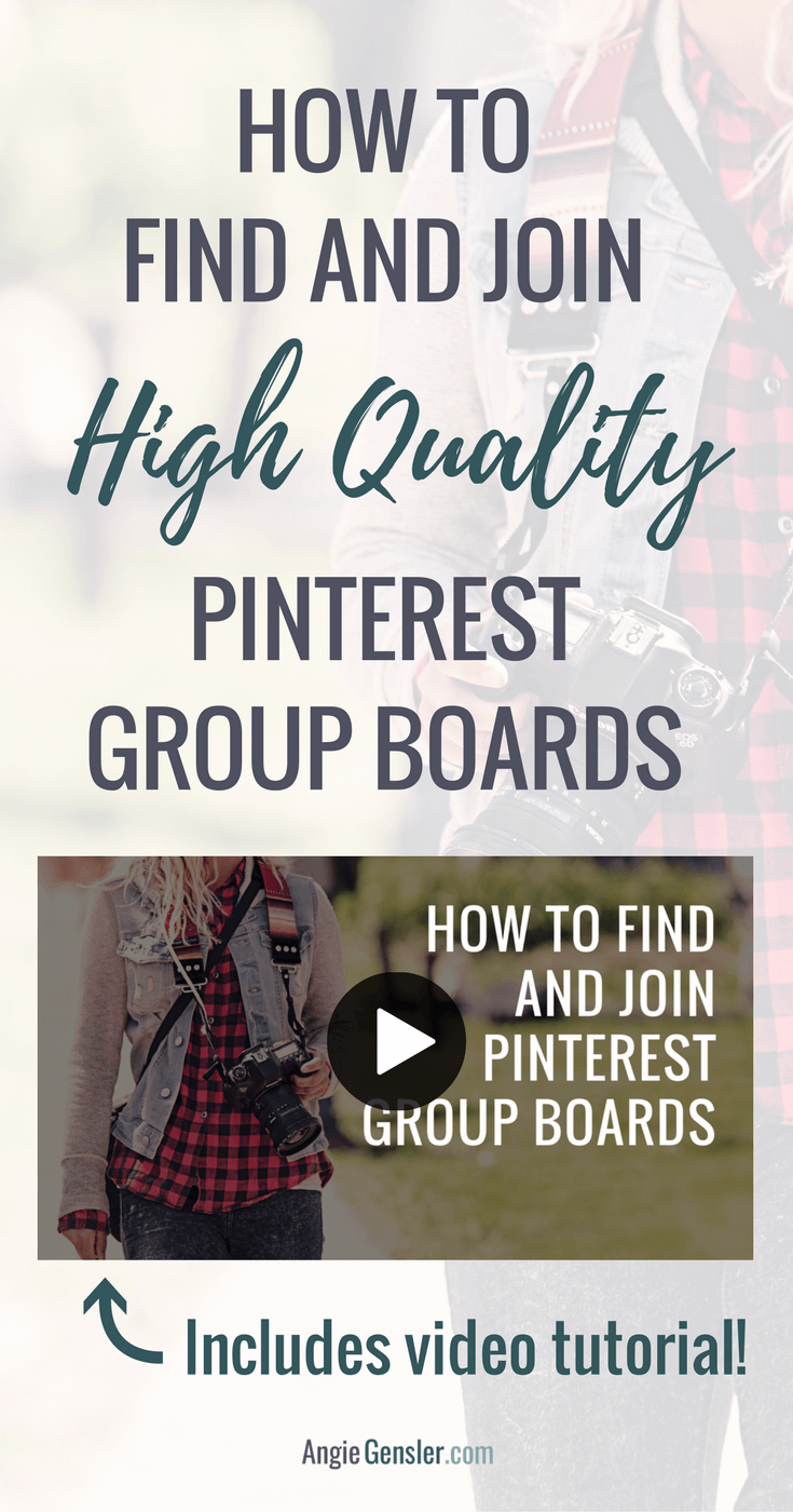How to find and join high quality pinterest group boards