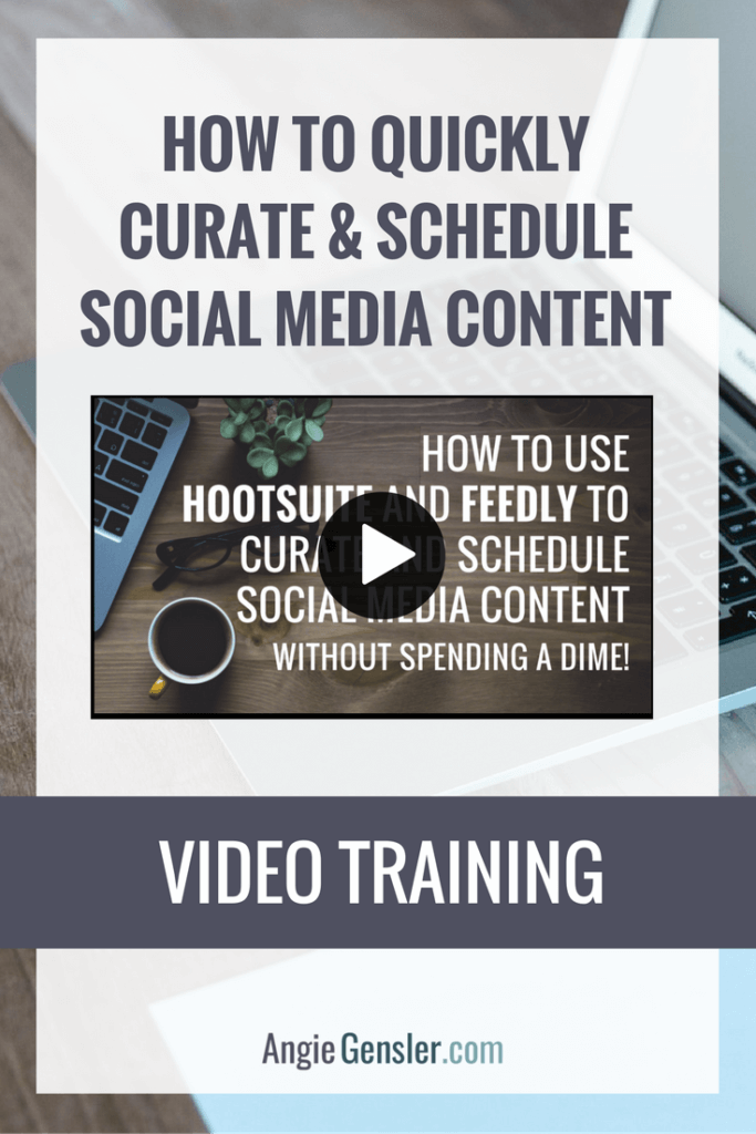 How to schedule your social media content like a boss pinterest