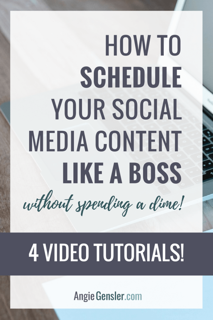 How to schedule your social media content like a boss_pinterest