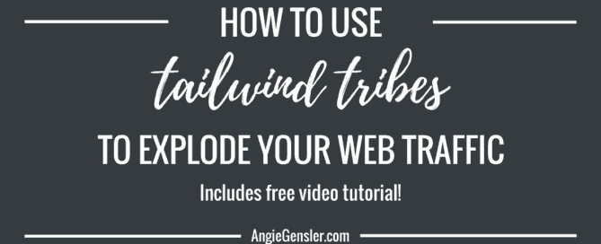 How to use Tailwind Tribes to explode your traffic_FB