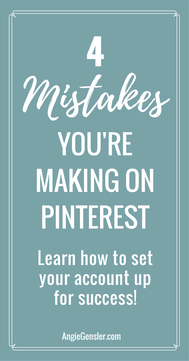 Learn how to set your pinterest account up for success
