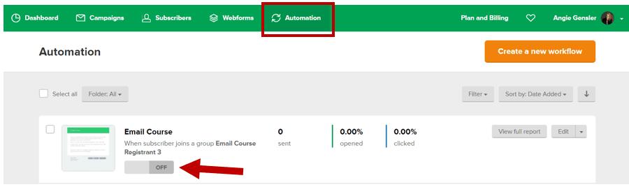 Mailerlite Automation On
