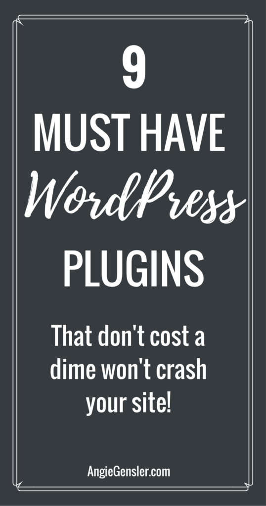 9 Must Have WordPress Plugins that won't cost a dime