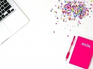 Social Media Content Ideas - Flat Lay Example