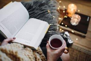 Social Media Content Ideas - Read a book